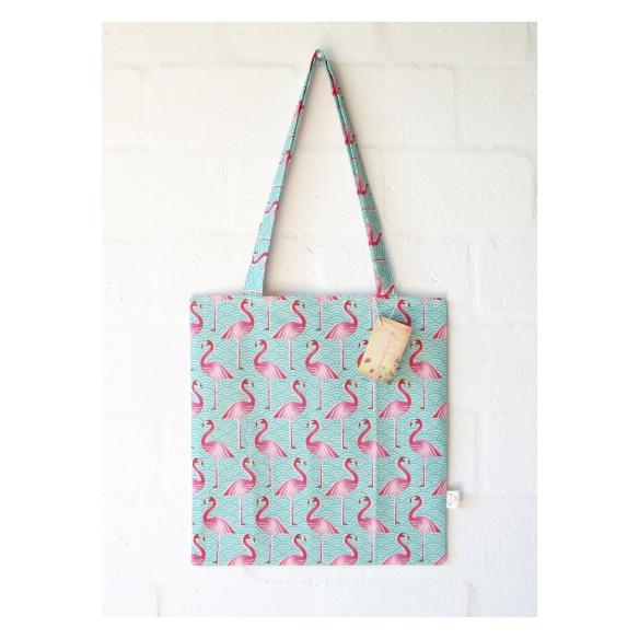PinkFlamingo Tote Bag