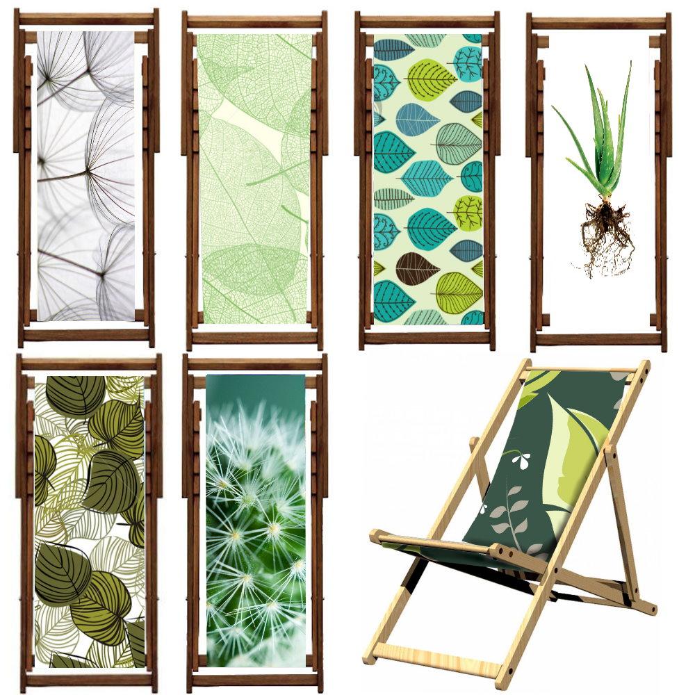 Polyester Print Deckchair Fabric