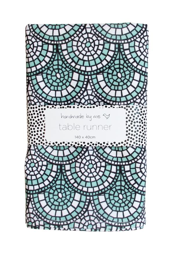 MosaicGreen_tableRunner