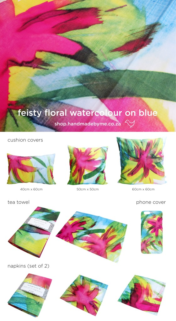 feisty floral poster 1