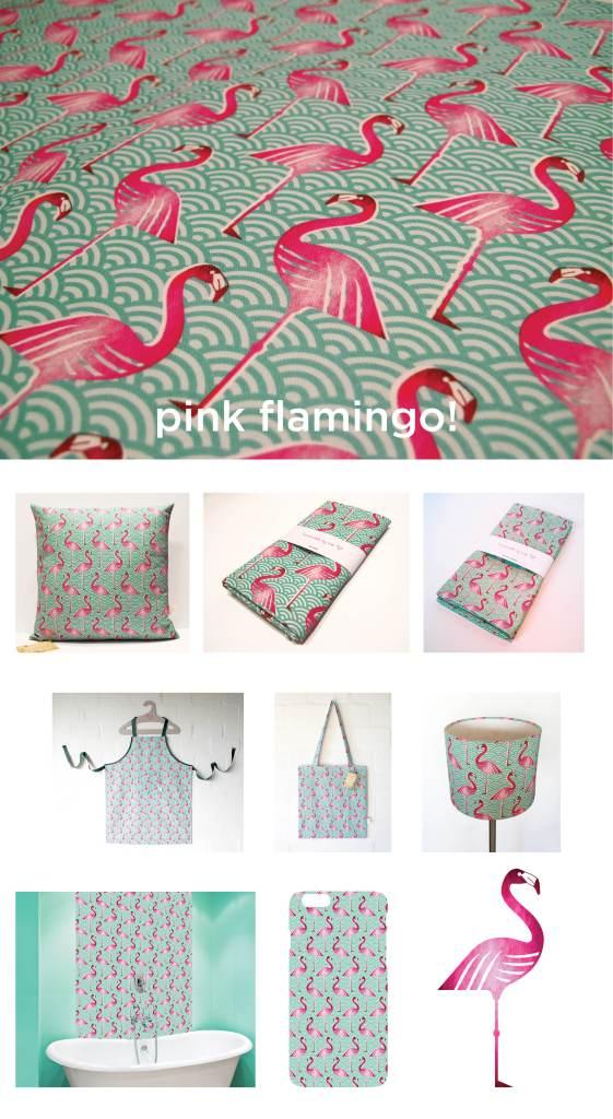 pink flamingo poster2