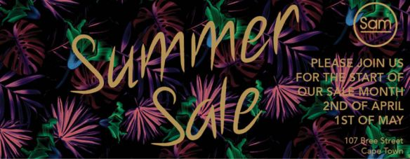 Shop Banners SAM sale