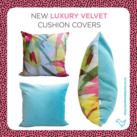 lux velvet cushion covers