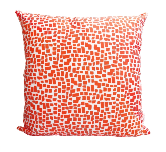 SquaresOrange_Cushion
