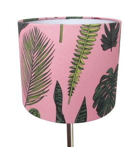 FoliageOnPink_Lampshade_Small1