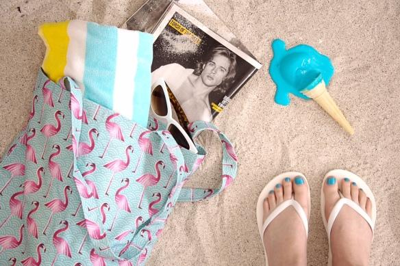 flamingo tote_LR